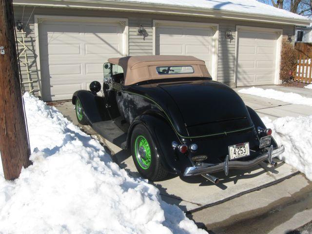 Genes roadster in snow 007