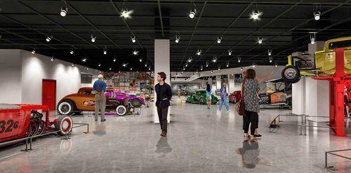 2nd-Floor---Hot-Rod-&-Customs-Gallery