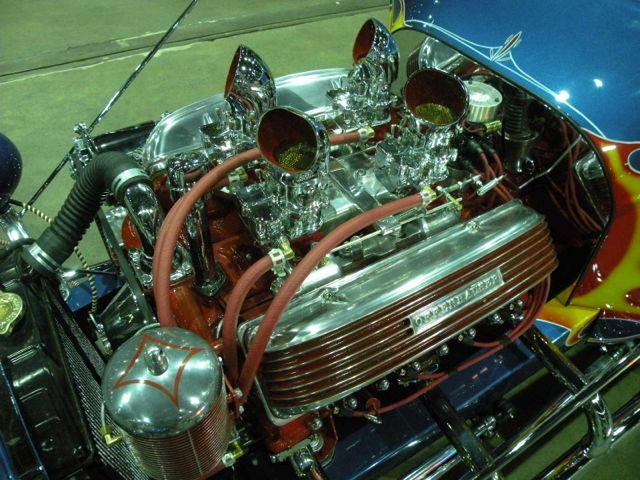 Stromberg Kookie Engine detail
