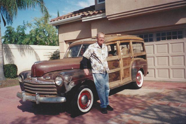 Lynn 1946 Ford Woody 2