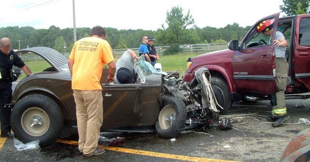 Ron Hickman crash