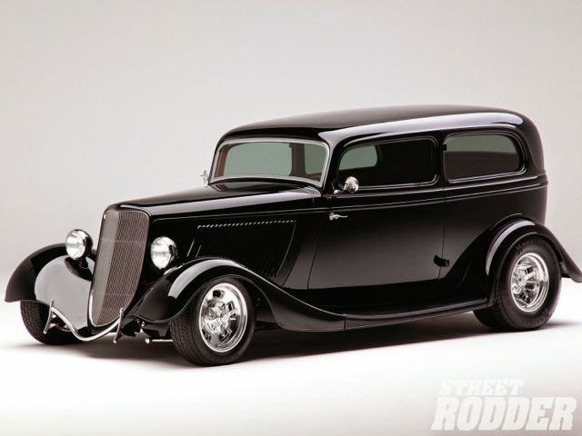 1304sr-01black-1933-ford-sedanbillet-grille-headlamps-and-front-fenders